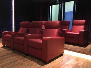 movie theater seats sofa