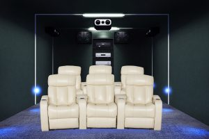Hotel use latest living theatre sofa vip cinema chairs