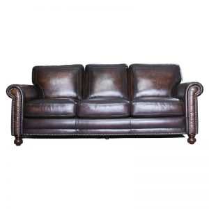 Burnished Leather Chair