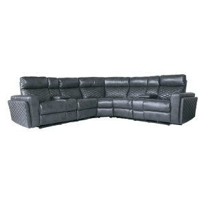 Fabric Furniture Couch Electric Corner Sectional Recliner Sofa Set