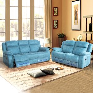Single Recliner Sofa Fabric Modern Recliner Chair