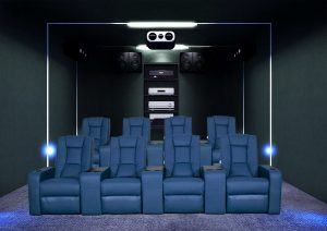 Home theater sofa cinema seater with 4d cinema chair