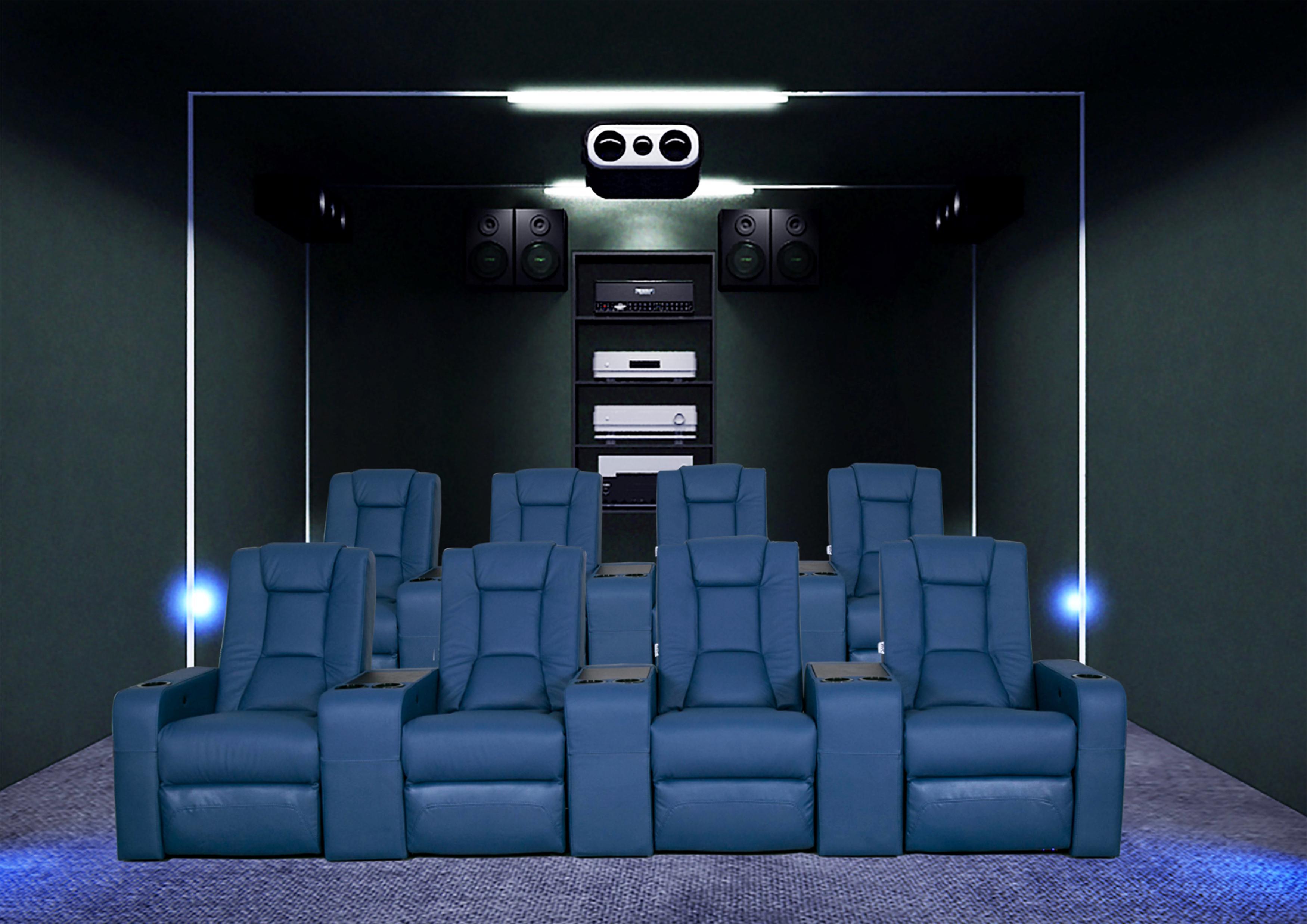 Home theater sofa cinema seater