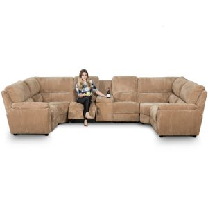 large corner recliner sofa