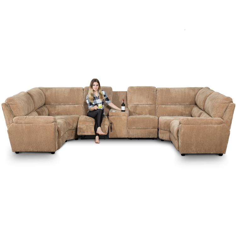 large corner recliner sofa