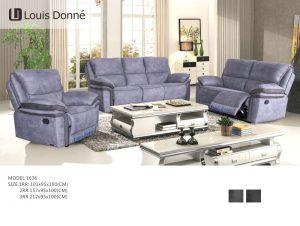 modern fabric recliner sofa