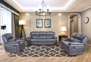 modern grey  fabric 2 seater living sofa