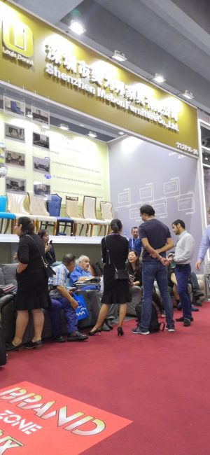 Shenzhen Mebon Furniture Co.,Ltd Canton Fair is in full swing…