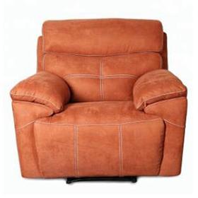 Cheap Orange 2 Seater Recliner Fabric Sofa Set