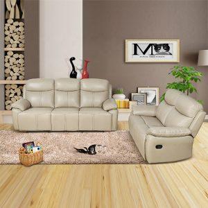 comfortable leather sofa