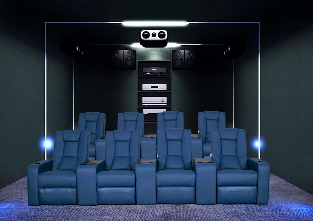 cinema room sofa
