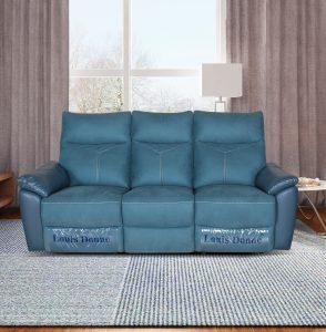 Modern Cheap Green Fabric Recliner Living Room Sofa Set Ireland