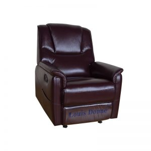 small leather recliner chair