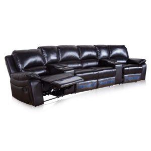electric home theatre lounge