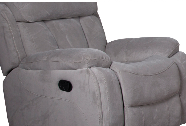 3 seater fabric recliner sofa