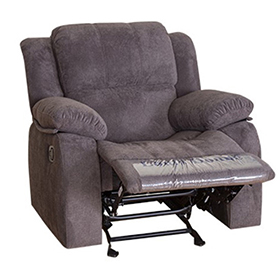 Best Extra Large Grey Adjustable Recliner Chair for Elderly
