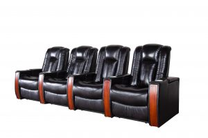 2 seater Home Theatre Power Recliner Sofa  with Adjustable Headrest and Lumbar