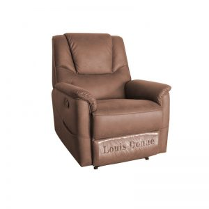 Cool Cheap Dark Brown Leather Recliner Chair