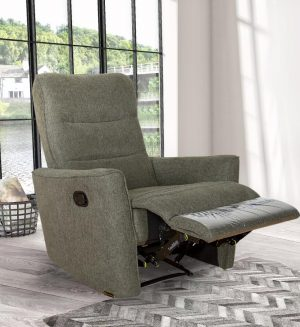 Small Lightweight  Single Recliner  Chair for Bedroom