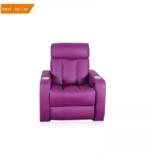 Best and Most Durable Leather Power Sofa Recliner Chair with Cup Holder