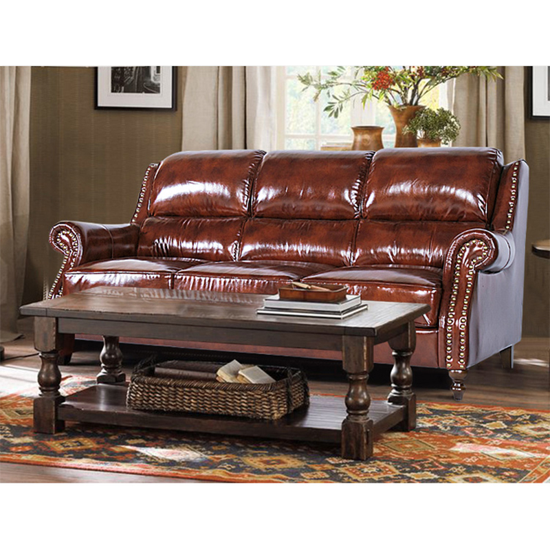 top grain leather sleeper sofa