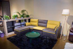 fabric l shape sofa