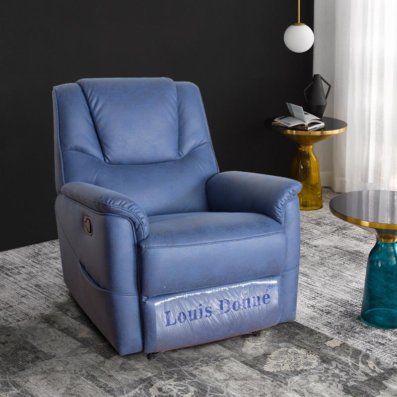 blue modern sofa