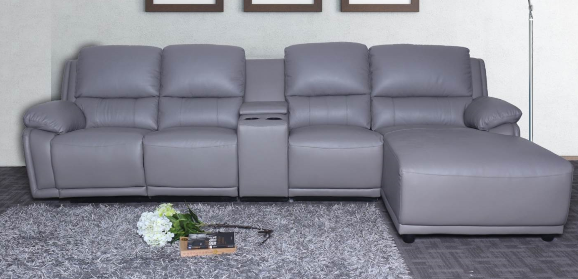 leather corner recliner sofa