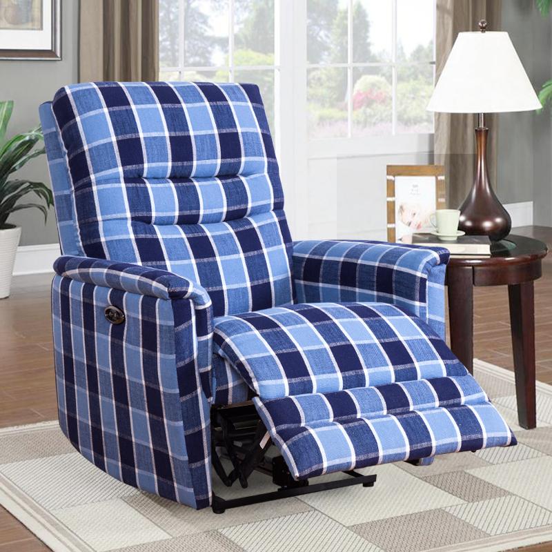 fabric electric recliner sofa
