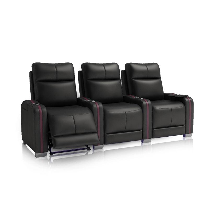 Hot-selling 3 Seater Theatre Lounge Theater Room and Living Room Sofa Set