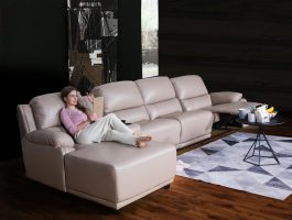 What are the advantages of leather sofas?