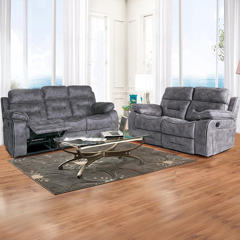 modern leather living room sofa