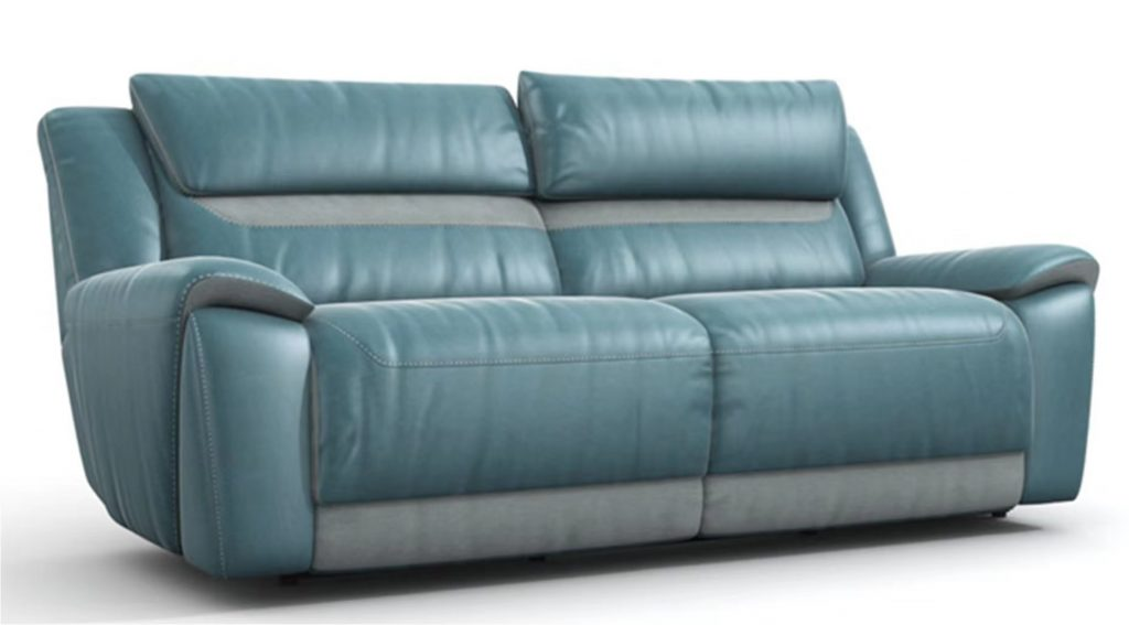 Classic electric recliner sofa