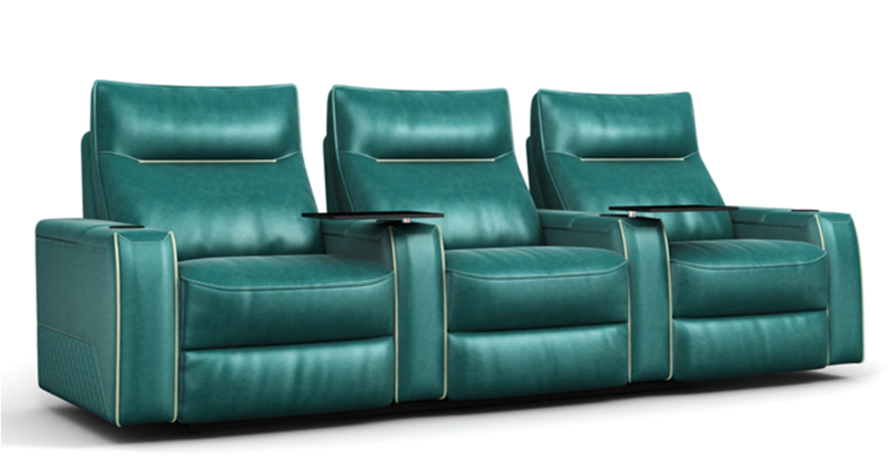 electric home theater sofa