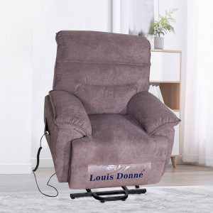 Fabric Automatic Electric  Power Lift Recliner Chair