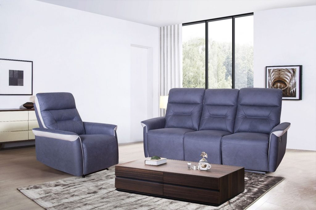 European Style Recliner Sofa Set