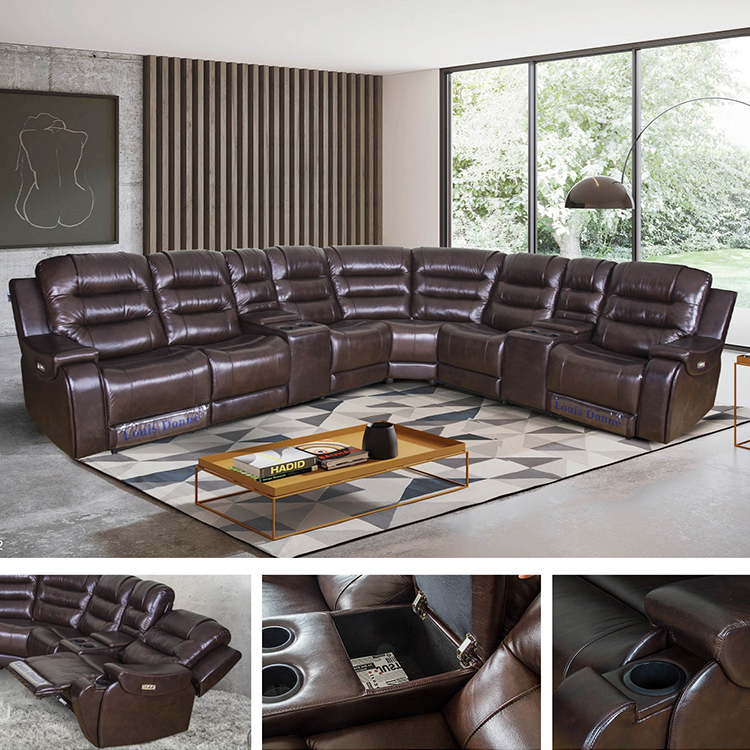 Smart Recliner Coner Sofa