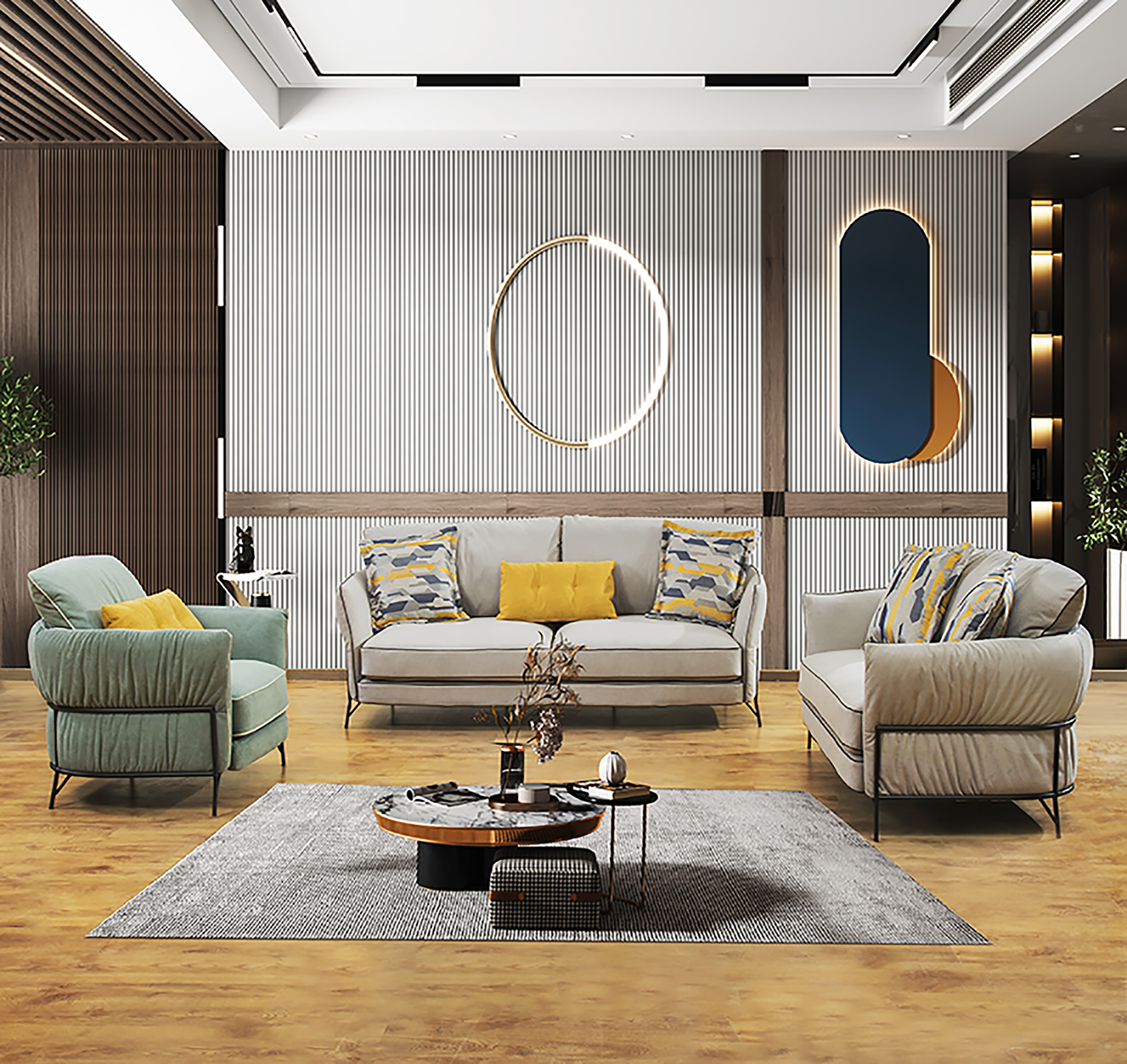 Advantages and disadvantages of cloth fabric sofa