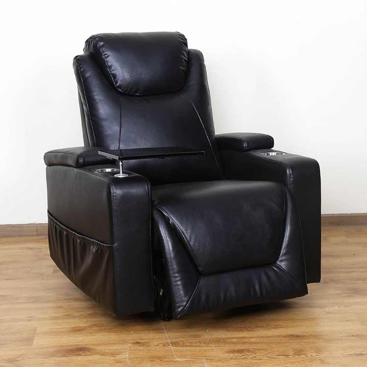 Massage electric recliner high quality leather office chair