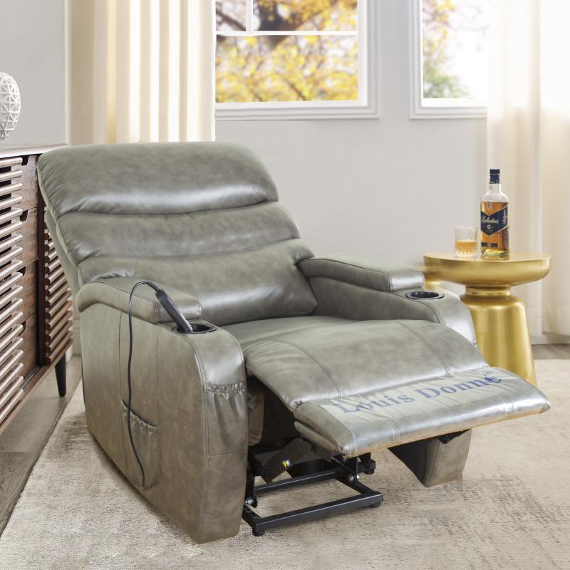 Origin of the genuine leather sofa