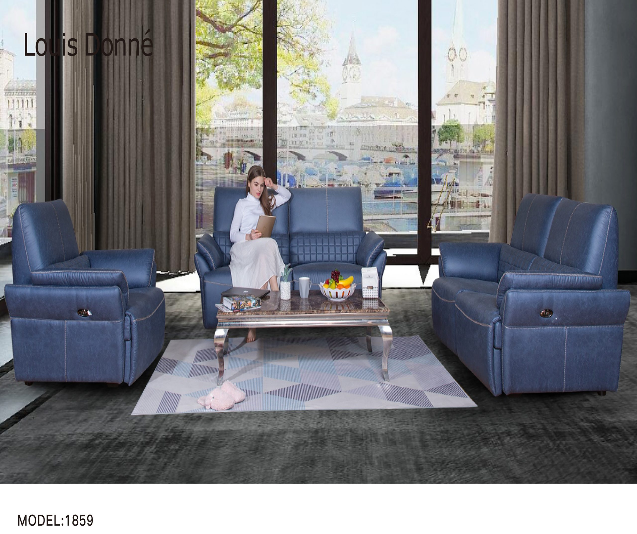 Home fabric sofa placement direction and feng shui (under)