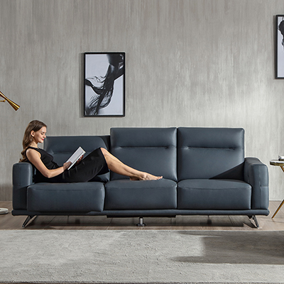 Modern style two seater living room sofa