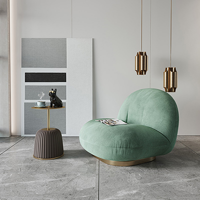 Postmodern novel art single chair
